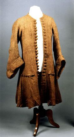 Just au corps from the late 17th century.  This coat was found on some poor bloke preserved in a peat bog.