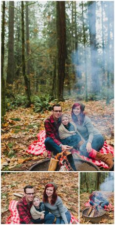 camping family photo shoot - Google Search