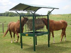 Small Square Bale Hay Feeders for Horses
