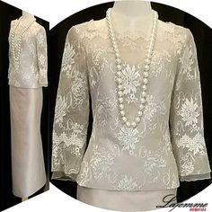ผลการค้นหารูปภาพสำหรับ เสื้อผ้าไหมไทย Thai Traditional Dress, Traditional Outfits, Silk Dress, Dress Up, Thailand Fashion, Dress Brokat, Thai Dress, Blouses For Women, Evening Dresses