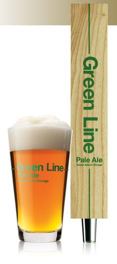 Goose Island Green Line Pale Ale - had this in Chicago. Not bad!!