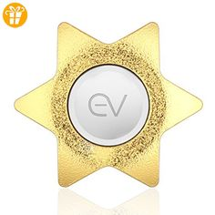 Eving Mini Fidget Spinner Toy Smooth Bearings for Anxiety ADD ADHD,Ultra Light Spinner EDC Focus Toy for Kids & Adults, Best Stress Reducer Quiting Smoking Boredom & Relaxation Toy - Gold - Fidget spinner (*Partner-Link)
