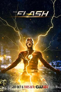 """""""The Flash"""" Gets A Shocking S2 Poster 