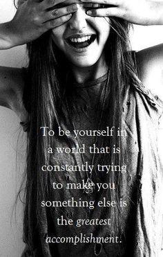 <3 something to live by Visit Waverider @ http://www.waveridermp3.com  #be yourself #brainwaves