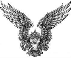 Eagle Wings Tattoo For Men and Women Eagle Wing Tattoos, Wing Tattoo Men, Feather Tattoos, Back Tattoos For Guys, Tattoos For Women Small, King Tattoos, Eagle Wings, Tattoo Designs For Girls, Trendy Tattoos