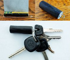 Have Gaffers Tape Always at the Ready by Making a DIY Keychain Fob