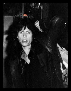 Young Steven Tyler of Aerosmith <3