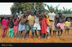 Faces to Lens - Tsinguidi, Niari- Republic of the Congo