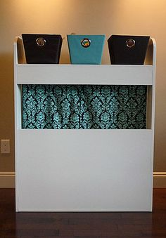 Puppet Theatre/Dress Up Storage Part One - The Reveal