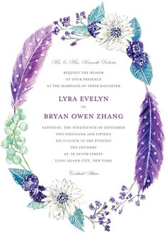wedding invitation idea, I'd love brown, turquoise and orange color