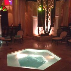 Jacuzzi in Riad Bahia, la Sultana - one of the 5 interconnecting riads that create the hotel