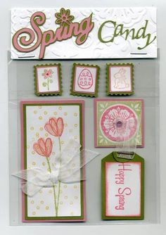 Spring Card Candy by cr8zyscrapper - Cards and Paper Crafts at Splitcoaststampers