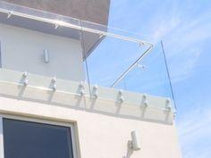 glass deck balustrade