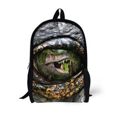 d1b0e4d9b7 FORUDESIGNS Preppy Style School Backpack for Teenager 3D Animal Lion Tiger  Kids Printing Backpack Zoo Casual Women Boys Bagpack