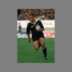 Jonah Lomu the greatest in power and size for speed and position → AB's winger
