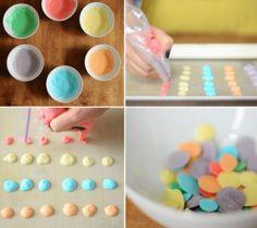An Easy & Healthy Summertime Snack for Baby   Disney Baby, Frozen Yogurt Dots