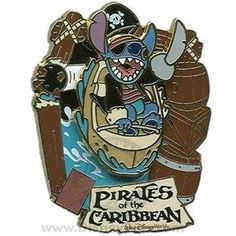 Disney Pins - E-Ticket Attractions - Pirates of the Caribbean - Stitch - Limited Edition Pin 72364 by Disney, http://www.amazon.com/dp/B008ELXT82/ref=cm_sw_r_pi_dp_pSTRrb0QNQAJD