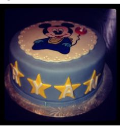 Mickey baby cake