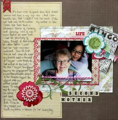 really nice journaling and love the fullness on the one side and then the photo centered amidst all the embellishments