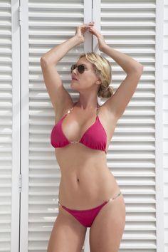 Juwel Triangel Bikini - Pink