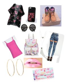 """""""just a bold look I guess !?"""" by fasionrebel ❤ liked on Polyvore featuring Timberland, Emporio Armani, Forever New, The Row and Lana"""