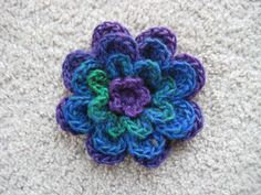 Mothers Day Flower by Lion Brand Yarn