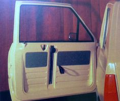 OG   1980 Fiat Panda   Door detail of full-size mock-up Fiat 126, Fiat Panda, Fiat Abarth, Door Detail, Car Humor, Funny Cars, Concept Cars, 4x4, Cars And Motorcycles