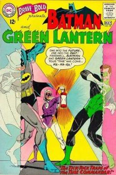 Green Lantern - Batman - Tick Tock - Commander - Time