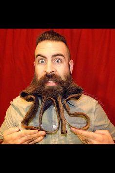 Daily WTF Mr Crazy Beard Styles Beards Pinterest Crazy - Incredibeard glorious beard