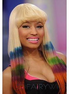 Hair natural length minaj nicki