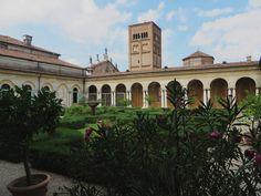Jardin suspendu (1579-1581), Palais ducal, Mantoue, province de Mantoue, Lombardie, Italie.