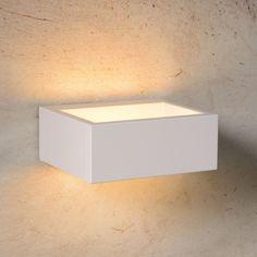 SKAPETZE - Moderna / LED Wandleuchte / IP54 / 420 Lumen / 6 Watt / weiss Aussenleuchten Wandleuchten Aussen