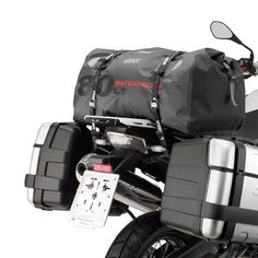 7bbfda11aa7 Givi WP401 80 Litre Waterproof Roll Bag Tail Pack Motorcycle Luggage,  Motorcycle Outfit, Motor