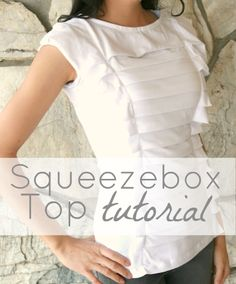 Squeezebox tee tutorial