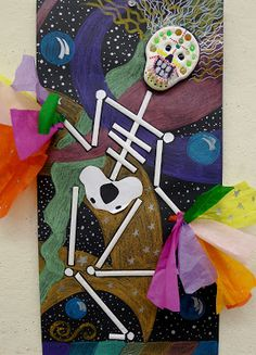 Art Education Blog for K-12 Art Teachers | SchoolArtsRoom: A Lesson for the Mexican Days of the Dead