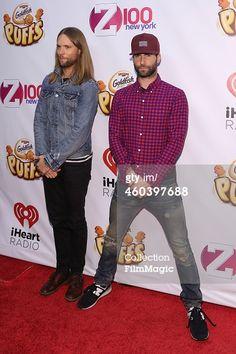 News Photo : James Valentine and Adam Levine of Maroon 5...