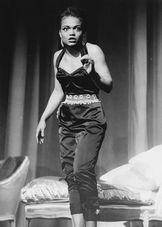 vintagegal:Eartha Kitt on Broadway c. 1950s (via)