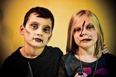 Maquillage Halloween enfant pour garçons et filles en 10 idées simples en photos