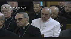 Francisco comienza sus ejercicios espirituales