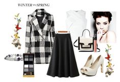 """""""winter to spring contest"""" by satineandlaced ❤ liked on Polyvore featuring Carven, Kate Spade, Benzara, Tom Ford, NARS Cosmetics and Wintertospring"""