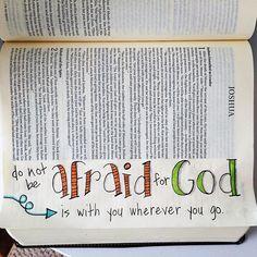 Courage in Christ Bible Journaling Bible Notes, My Bible, Bible Scriptures, Bible Art, Book Art, Bible Journaling For Beginners, Bible Study Journal, Scripture Study, College Girls