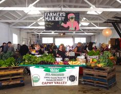 サクラメントのファーマーズ・マーケット/ Farmers Market in Sacramento : アメリカからニュージーランドへ