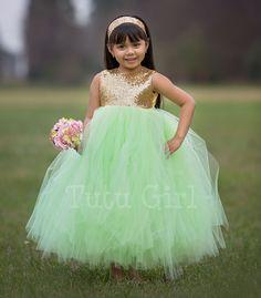 Flower Girl Dresses   Tutu Style
