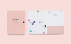 KINDO精品童裝商店與識別設計 | MyDesy 淘靈感