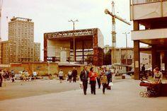 Gewandhaus im Bau, 18.08.1978