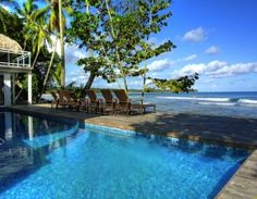 Private beachfront villa for sale in the Dominican Republic - Samana - for a mere 2.5 million dollars.