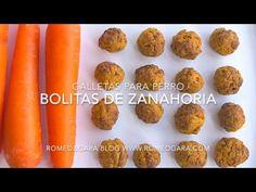 Galletas caseras para perros de zanahoria – Romeo&Gara