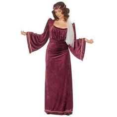 Disfraz de Julieta medieval para mujer