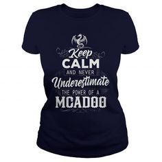 MCADOO, MCADOO T Shirt, MCADOO Tee #name #tshirts #MCADOO #gift #ideas #Popular #Everything #Videos #Shop #Animals #pets #Architecture #Art #Cars #motorcycles #Celebrities #DIY #crafts #Design #Education #Entertainment #Food #drink #Gardening #Geek #Hair #beauty #Health #fitness #History #Holidays #events #Home decor #Humor #Illustrations #posters #Kids #parenting #Men #Outdoors #Photography #Products #Quotes #Science #nature #Sports #Tattoos #Technology #Travel #Weddings #Women
