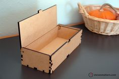 Magnetic Hinge Box - MDF